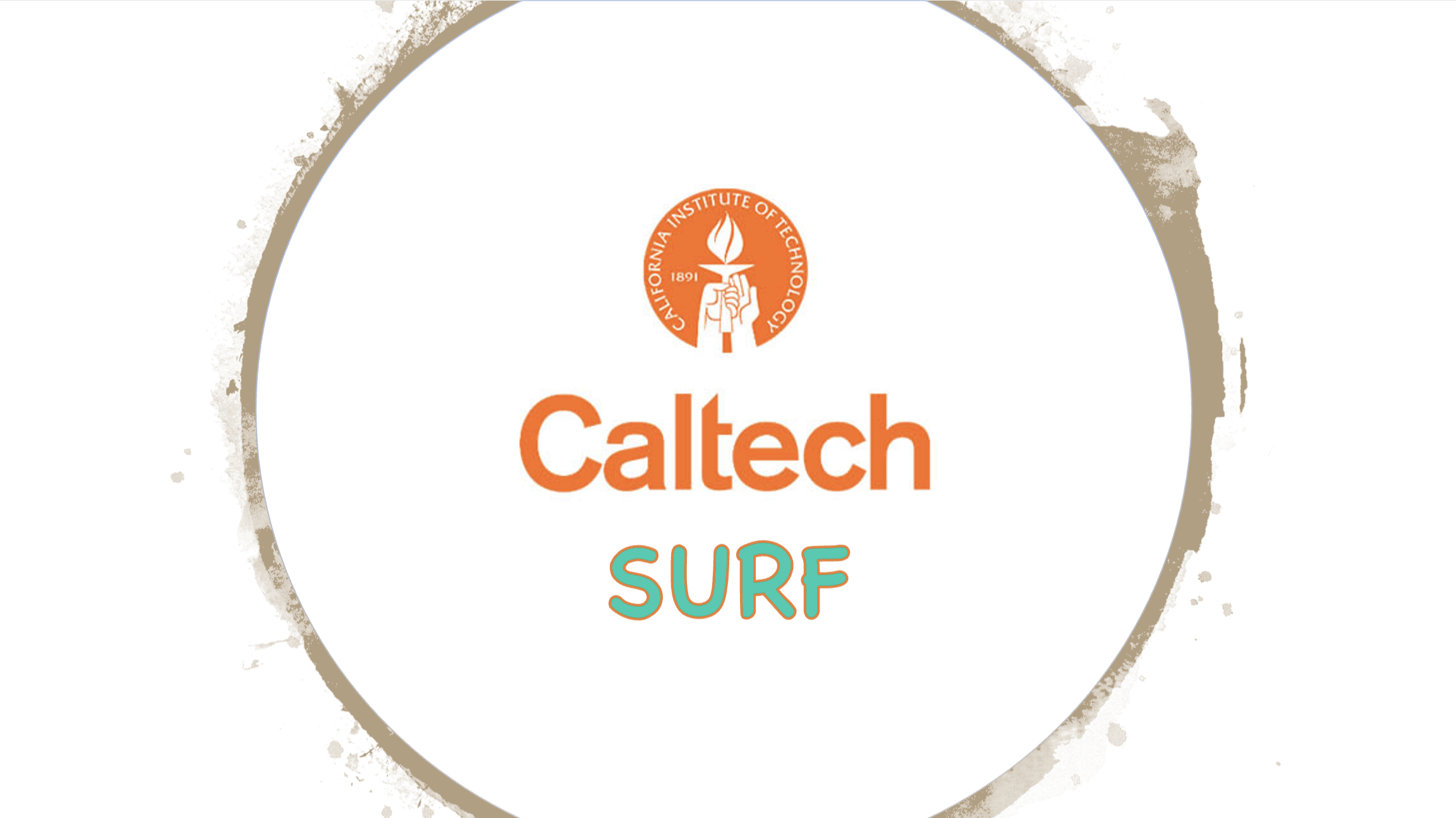 Applying for a Caltech SURF!