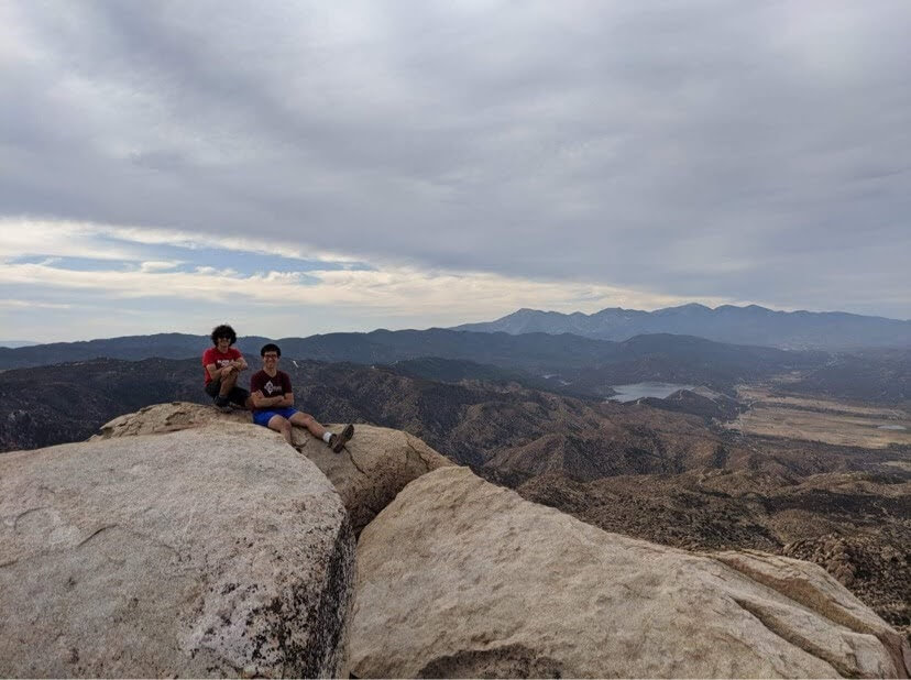 Exploring the Mountains of SoCal during the Virtual School Year